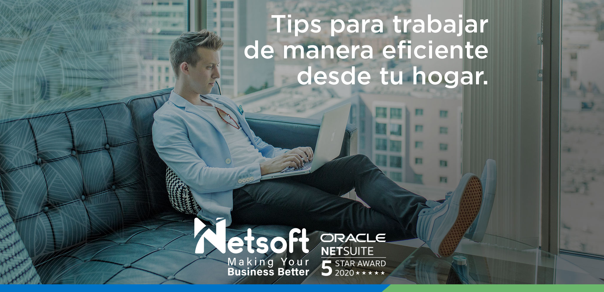 Tips para trabajar de manera eficiente desde tu hogar.