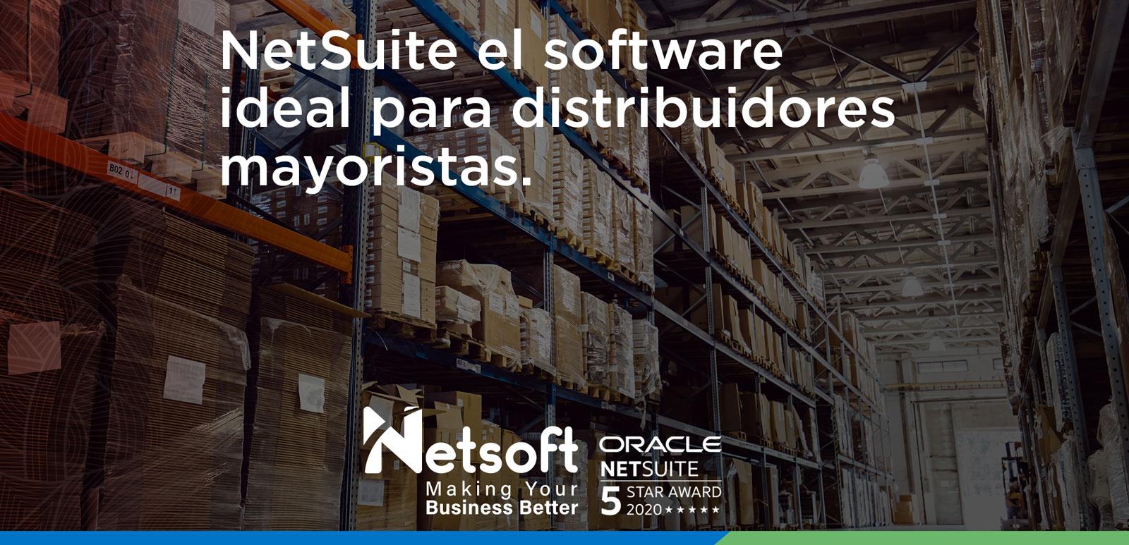 NetSuite el software para distribuidores mayoristas