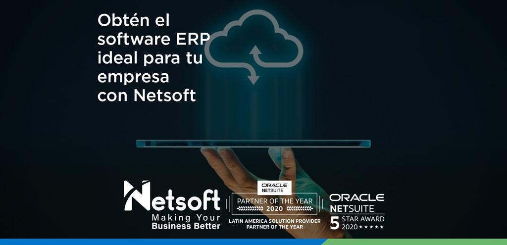 Obtén el software ERP ideal para tu empresa con Netsoft