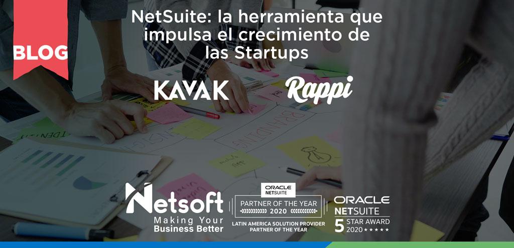 NetSuite: la herramienta que impulsa el crecimiento de las Startups