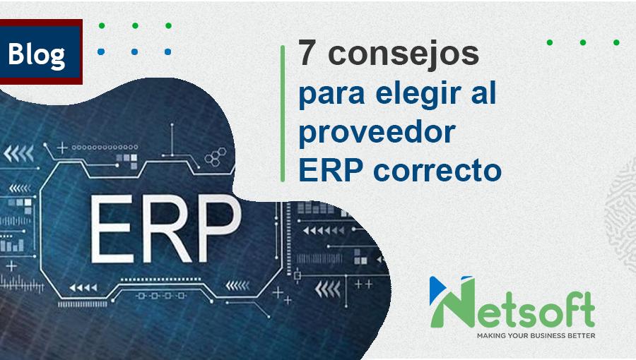 proveedor ERP