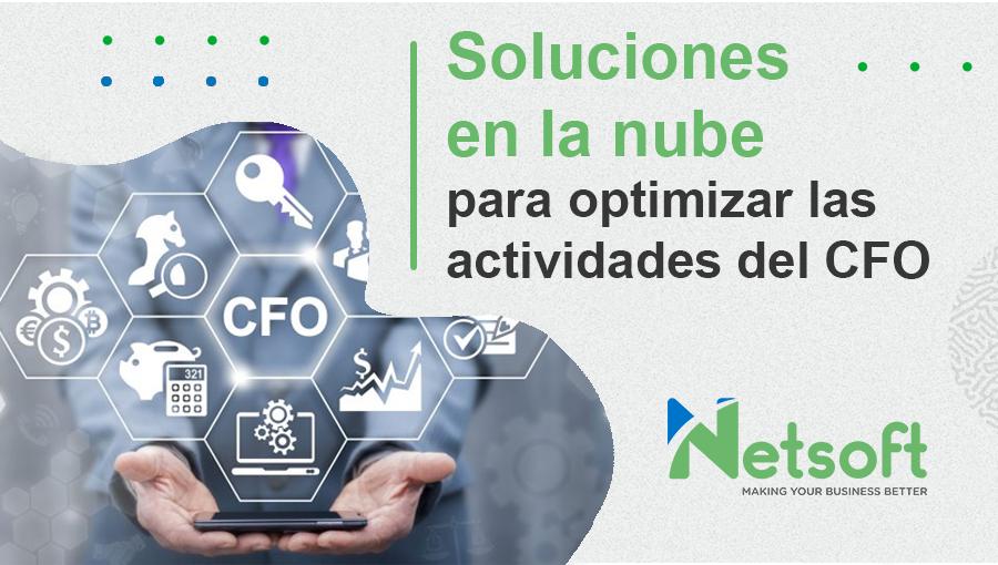 Soluciones en la nube para optimizar las actividades del CFO